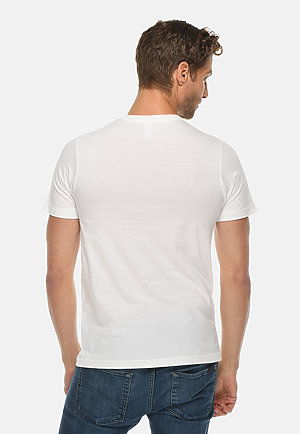 Deluxe Tee WHITE back