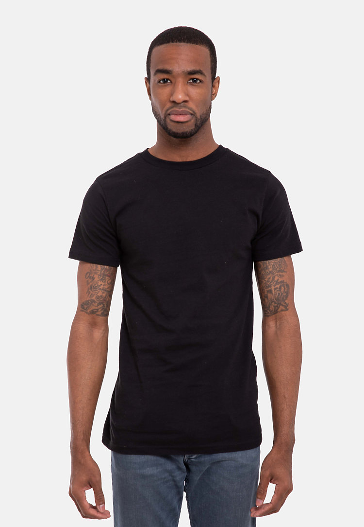 Urban Heavyweight Tee BLACK front
