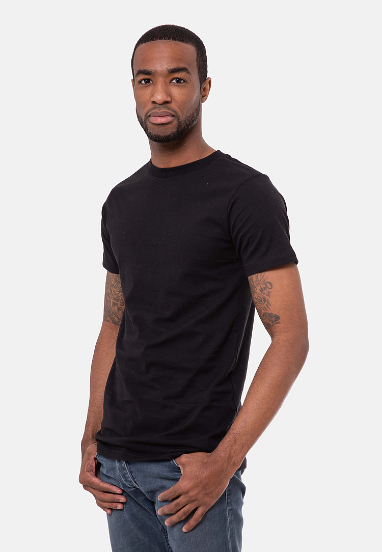 Urban Heavyweight Tee BLACK side