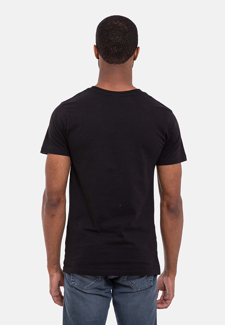 Urban Heavyweight Tee BLACK back