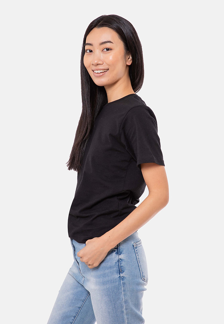 Urban Heavyweight Tee BLACK sidew