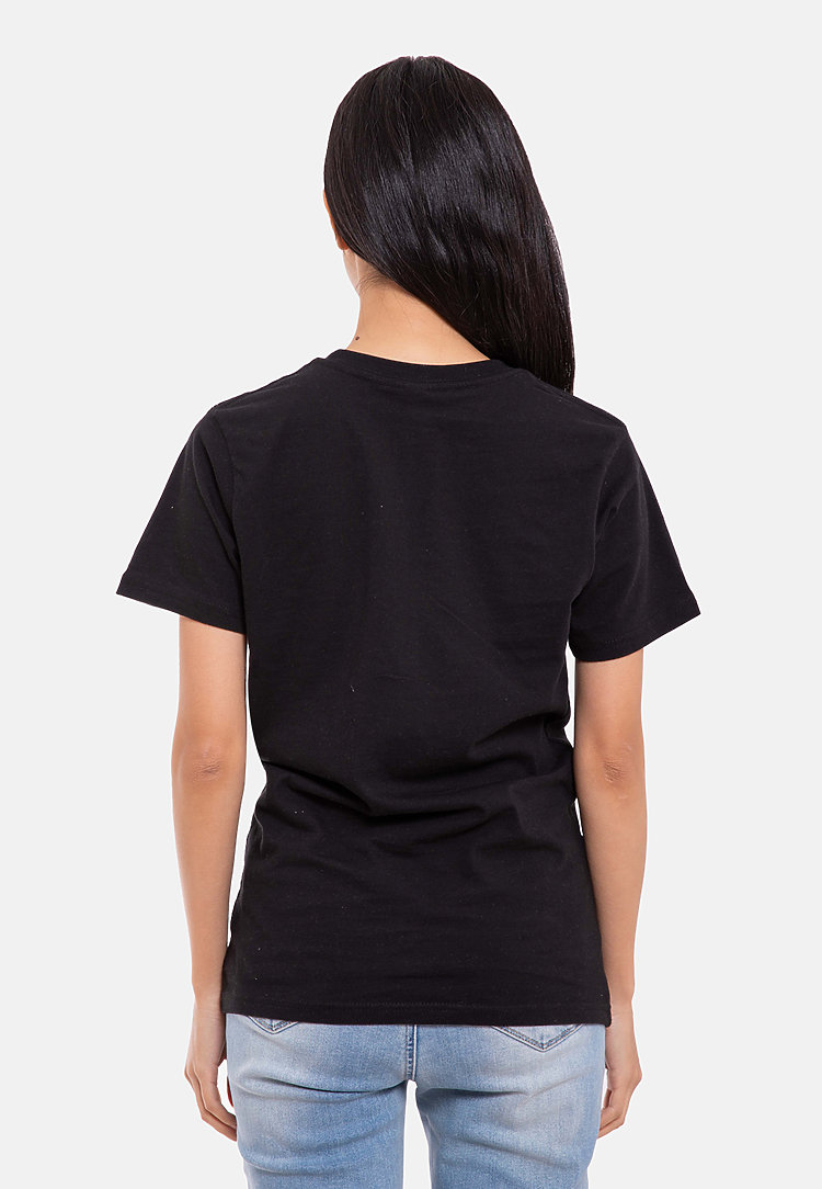 Urban Heavyweight Tee BLACK backw