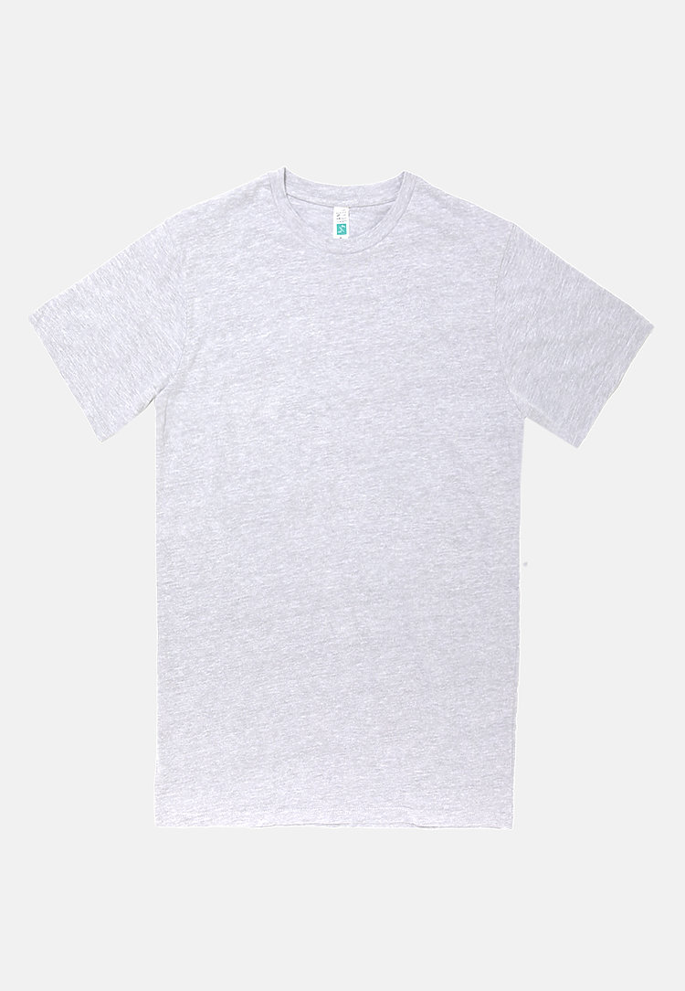 Urban Heavyweight Tee HEATHER GREY flat