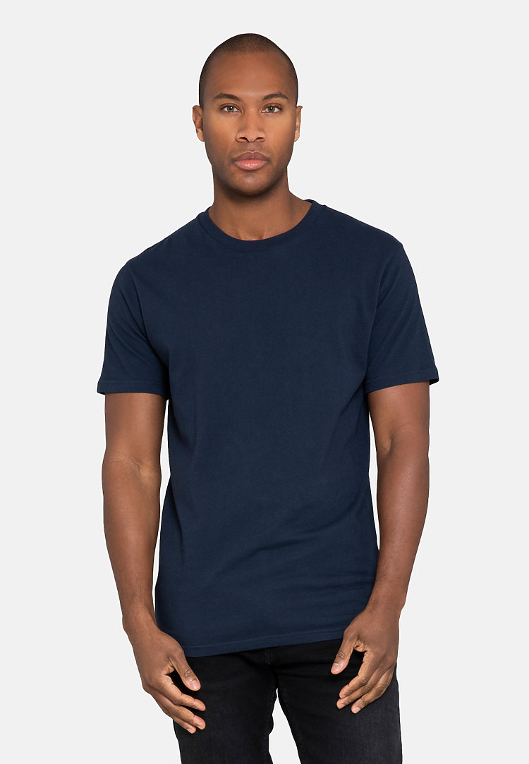 Urban Heavyweight Tee NAVY BLUE front