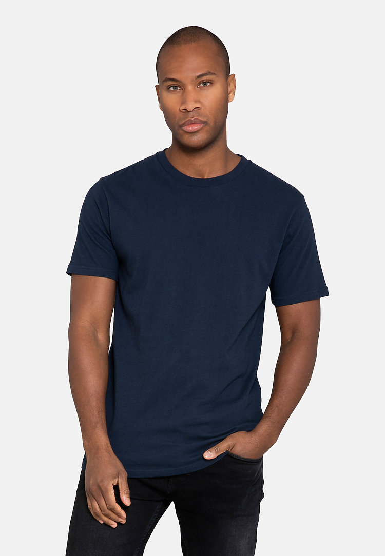Urban Heavyweight Tee NAVY BLUE side