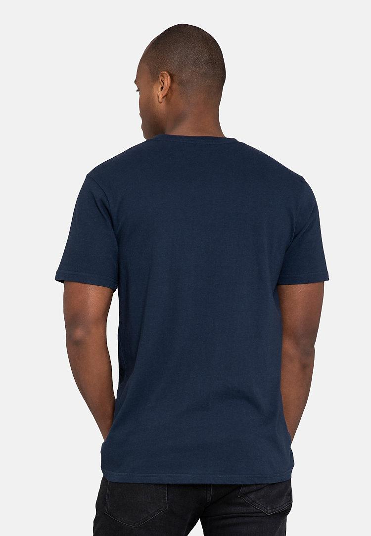 Urban Heavyweight Tee NAVY BLUE back