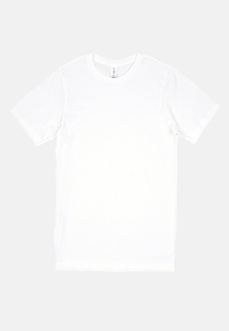 Urban Heavyweight Tee WHITE flat
