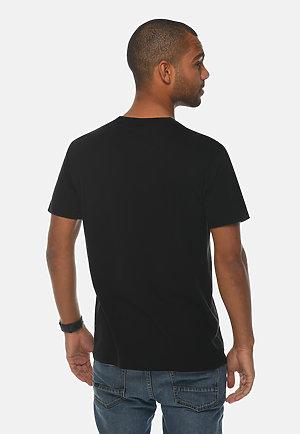 Premium Crewneck Tee BLACK front
