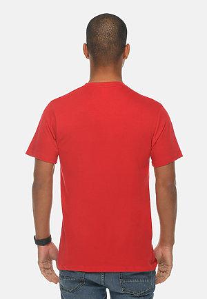 Premium Crewneck Tee RED front