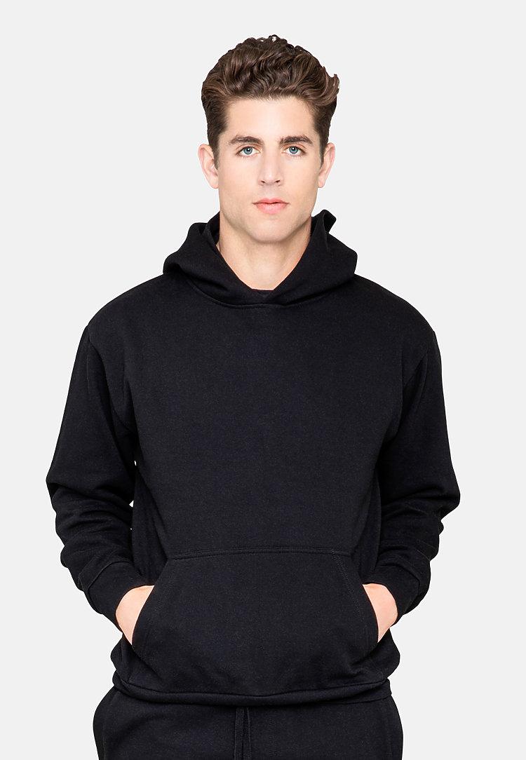 Urban Pullover Hoodie BLACK front