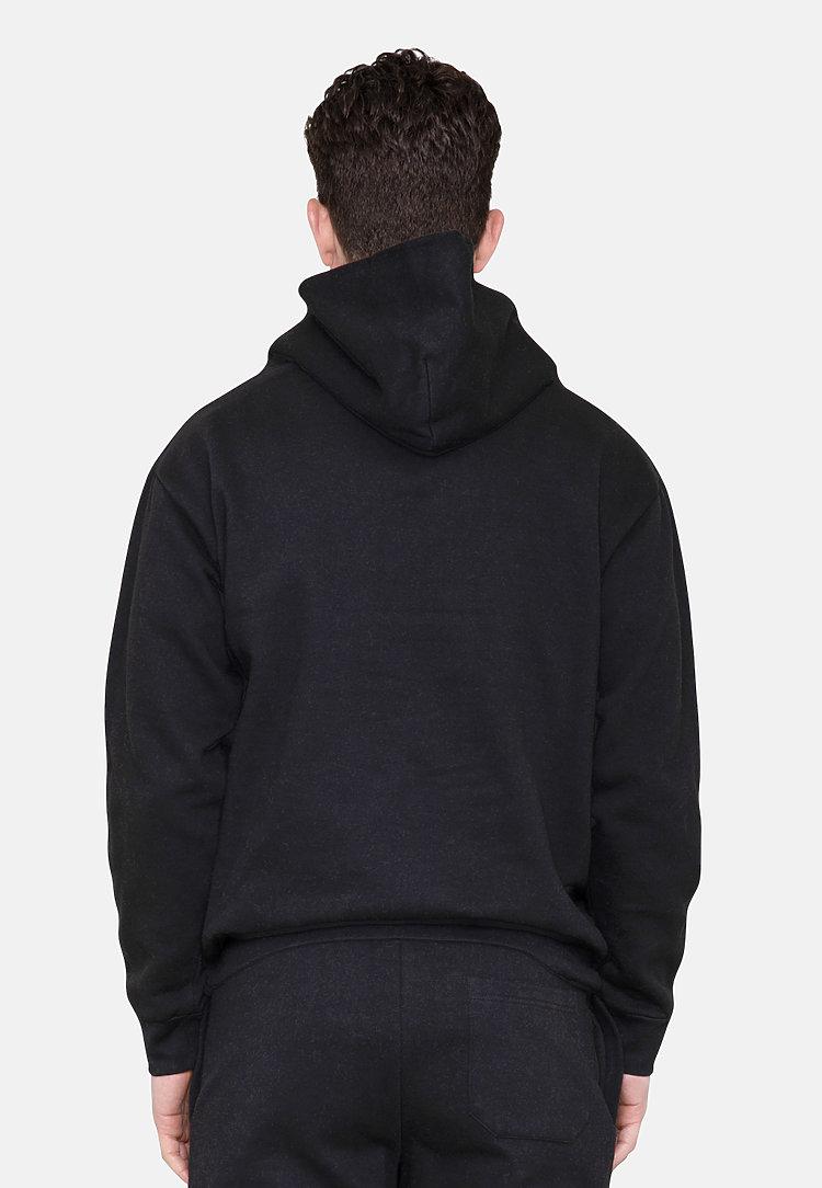 Urban Pullover Hoodie BLACK back