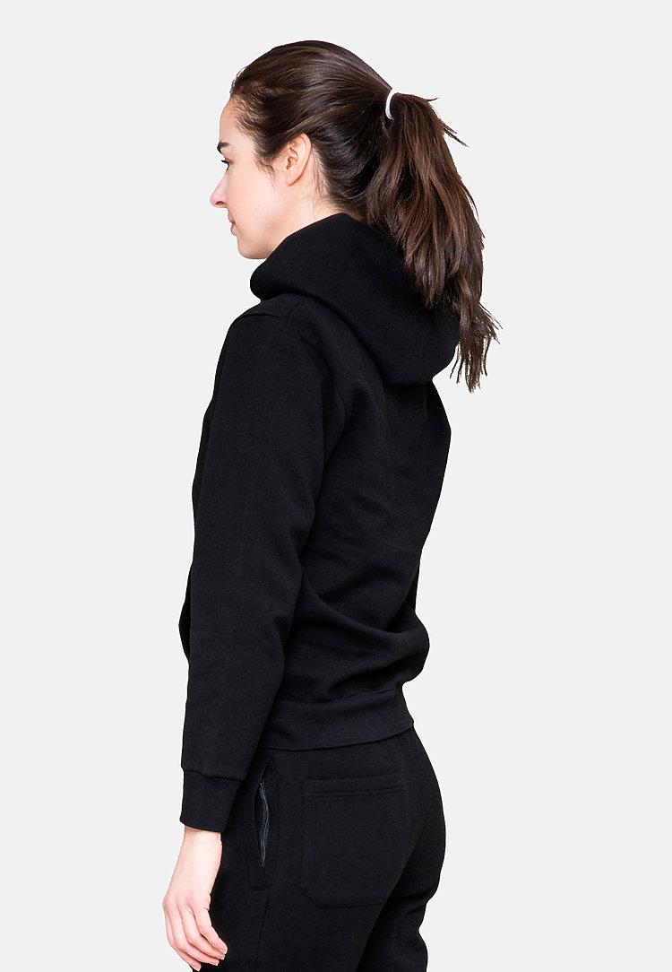 Urban Pullover Hoodie BLACK sidew