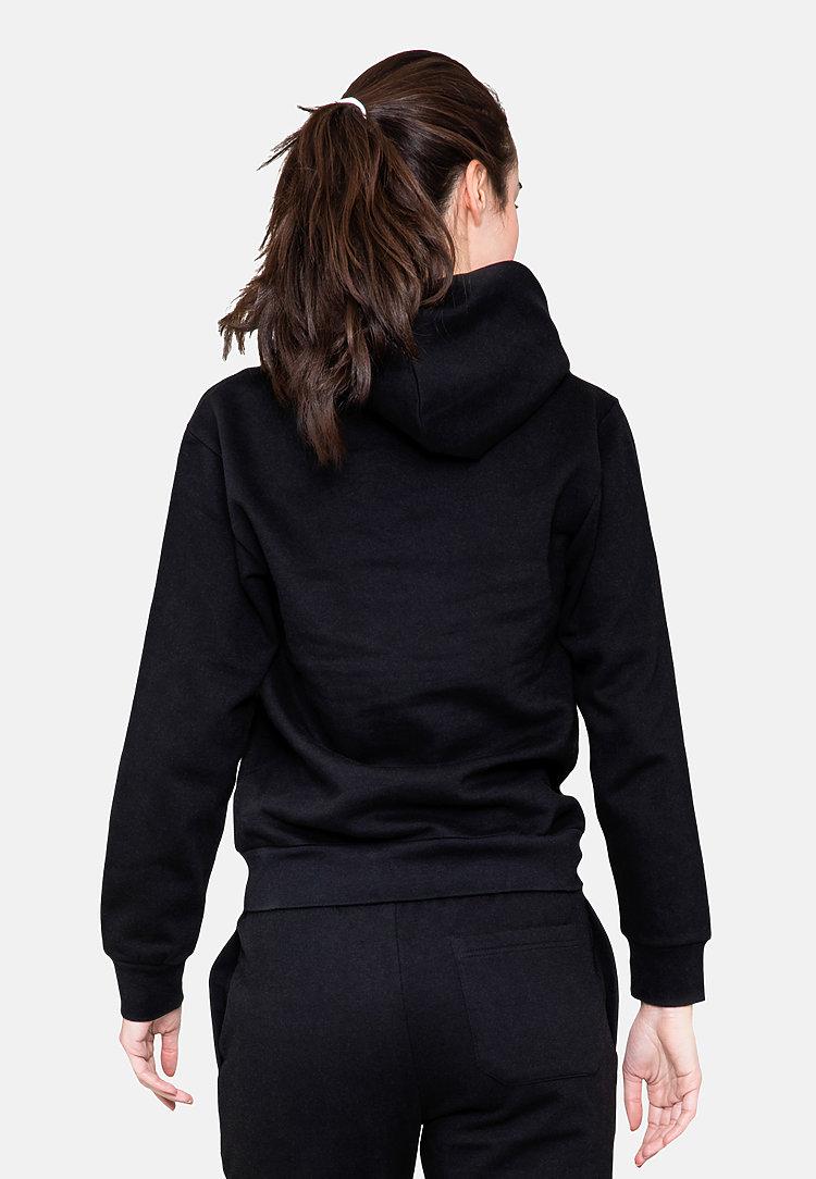 Urban Pullover Hoodie BLACK backw