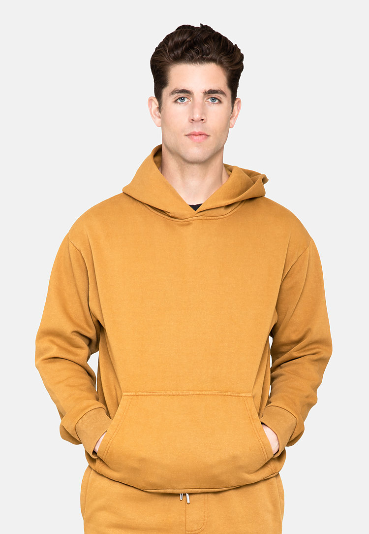Urban Pullover Hoodie PEANUT BUTTER front