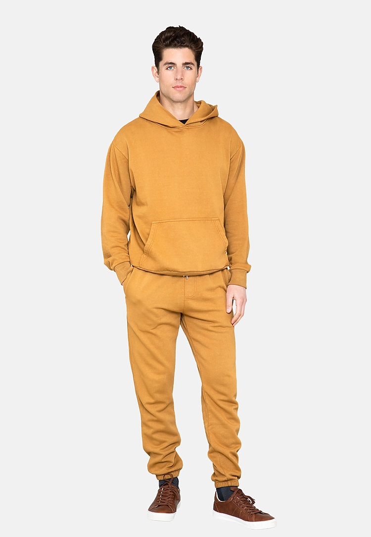 Urban Pullover Hoodie PEANUT BUTTER side
