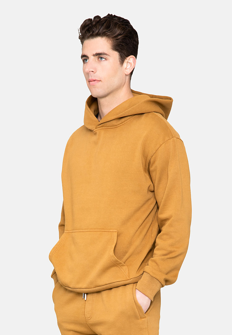 Urban Pullover Hoodie PEANUT BUTTER back