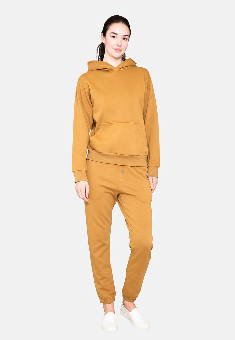 Urban Pullover Hoodie PEANUT BUTTER backw