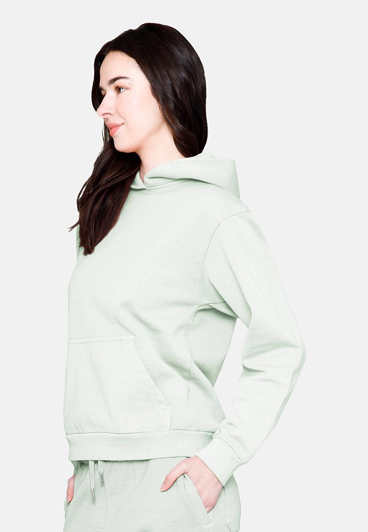 Urban Pullover Hoodie PISTACHIO backw