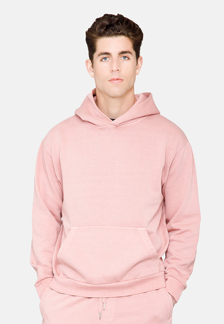 Urban Pullover Hoodie SALMON front