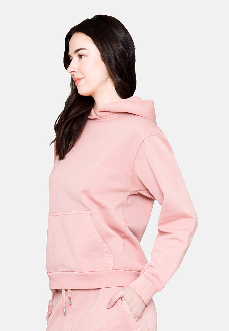Urban Pullover Hoodie SALMON backw