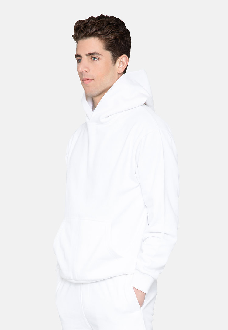 Urban Pullover Hoodie WHITE back