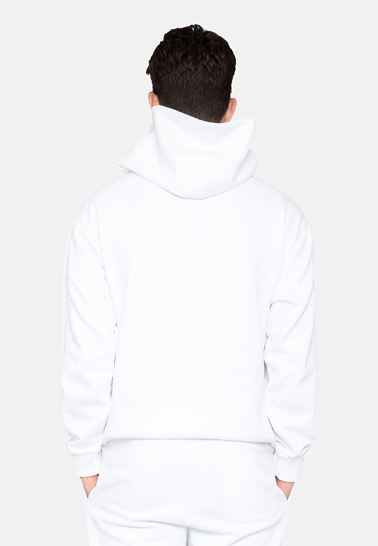 Urban Pullover Hoodie WHITE frontw