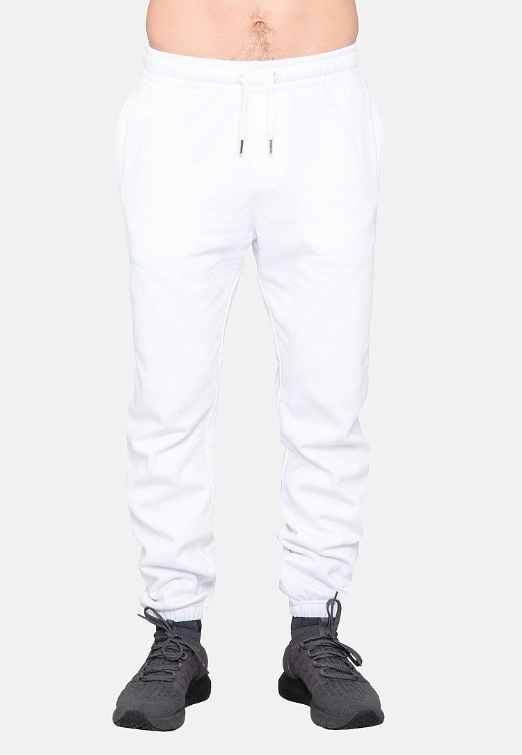 Urban Sweatpants WHITE front