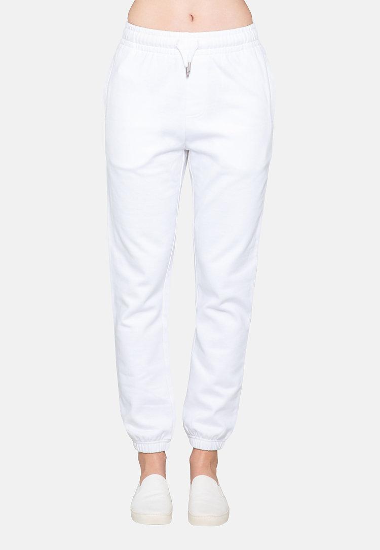 Urban Sweatpants WHITE sidew