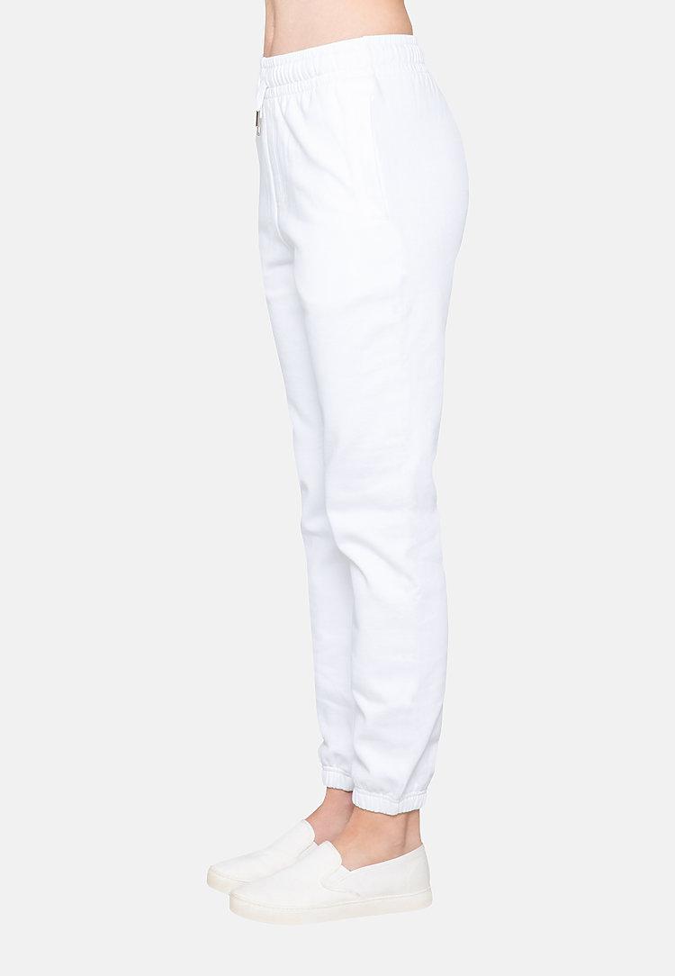 Urban Sweatpants WHITE backw