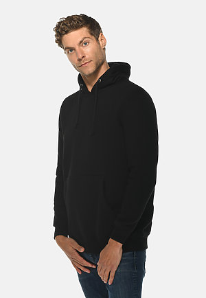 Heavyweight Hoodie BLACK side