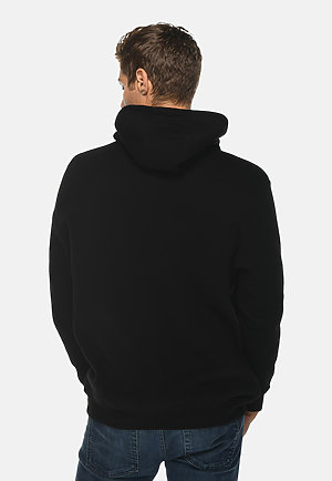 Heavyweight Hoodie BLACK back