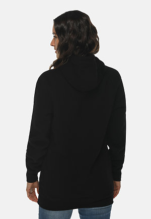 Heavyweight Hoodie BLACK backw