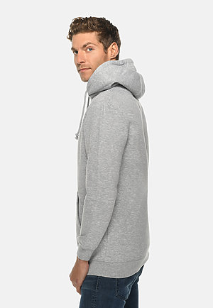 Heavyweight Hoodie HTR GREY side