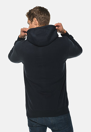 Heavyweight Hoodie NAVY BLUE back