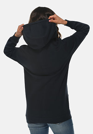 Heavyweight Hoodie NAVY BLUE backw