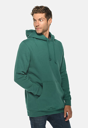 Heavyweight Hoodie TEAL side