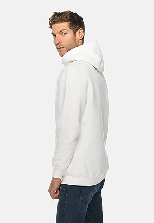 Heavyweight Hoodie WHITE side