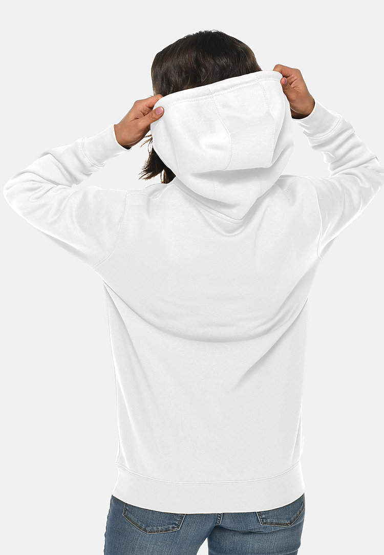 Heavyweight Hoodie WHITE backw