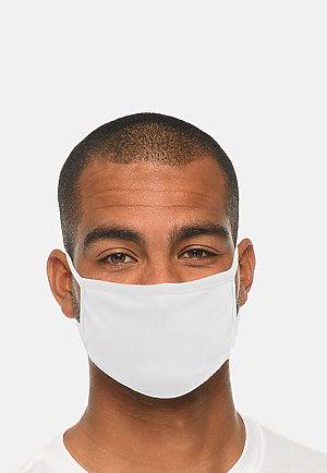 FACE MASK - Pack of 10 WHITE (Pack of 10) front