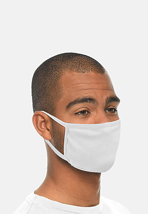 FACE MASK - Pack of 10 WHITE (Pack of 10) side