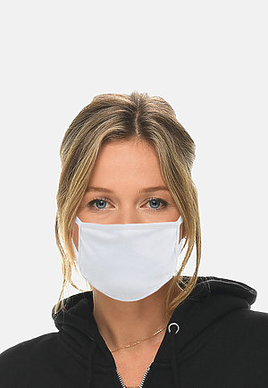 FACE MASK - Pack of 10 WHITE (Pack of 10) front2