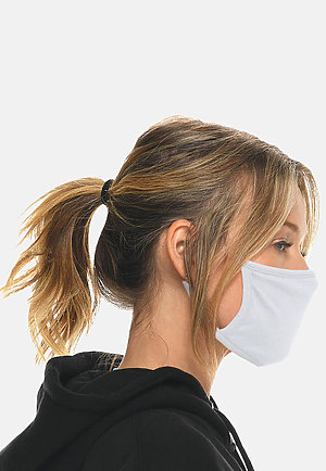 FACE MASK - Pack of 10 WHITE (Pack of 10) side2