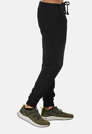 Premium Fleece Joggers BLACK side