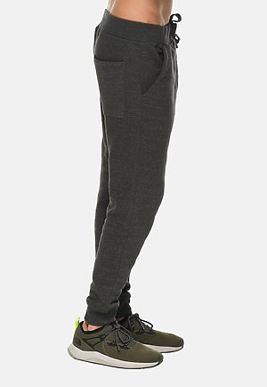 Premium Fleece Joggers CHARCOAL HEATHER side