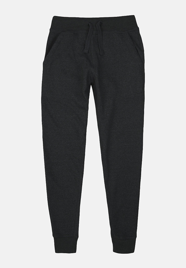 Premium Fleece Joggers CHARCOAL HEATHER flat