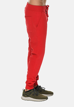 Premium Fleece Joggers RED side