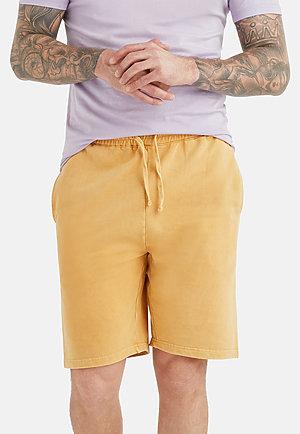 Vintage Shorts VINTAGE MUSTARD front