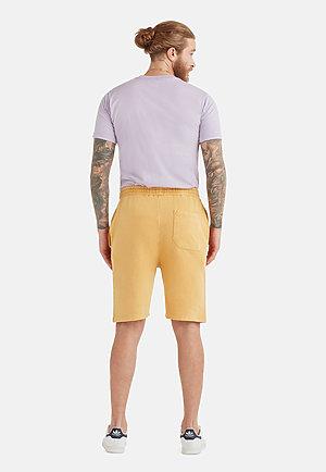 Vintage Shorts VINTAGE MUSTARD back