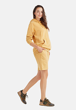 Vintage Shorts VINTAGE MUSTARD sidew