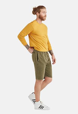 Vintage Shorts VINTAGE OLIVE back